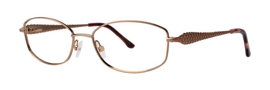 Dana Buchman ABBATHA Brown Eyeglasses Size53-16-138.00