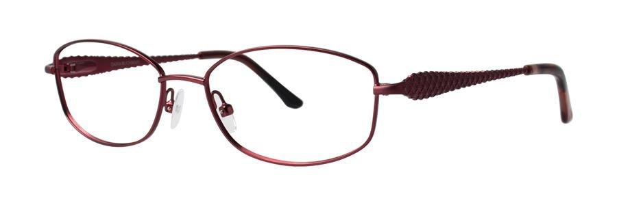 Dana Buchman ABBATHA Burgundy Eyeglasses Size53-16-138.00