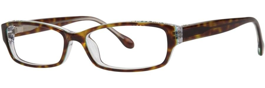 Lilly Pulitzer ABYGALE Tortoise Eyeglasses Size54-15-135.00