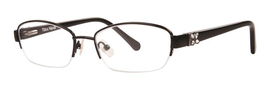 Vera Wang ACACIA Black Eyeglasses Size53-17-135.00