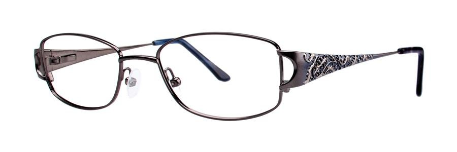 Dana Buchman ADELPHIA Black Eyeglasses Size52-18-135.00