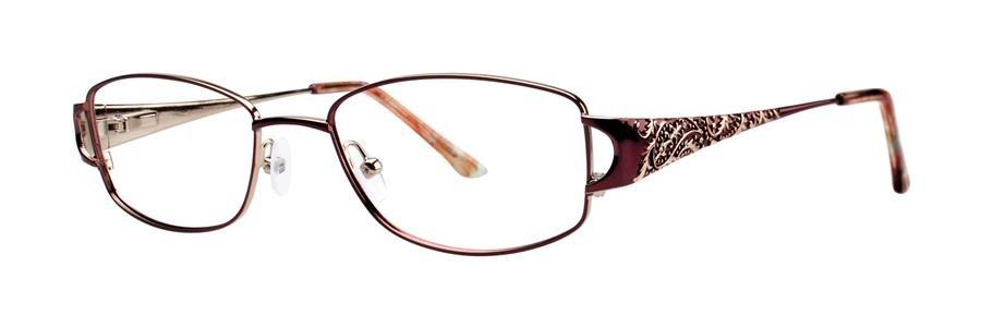 Dana Buchman ADELPHIA Brown Eyeglasses Size50-18-130.00
