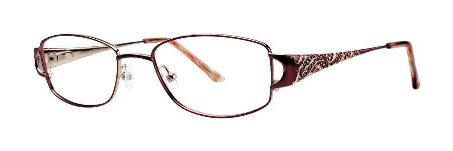 Dana Buchman ADELPHIA Brown Eyeglasses Size52-18-135.00