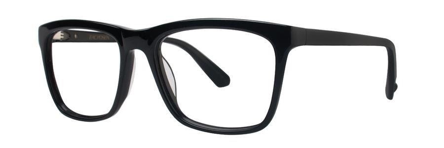 Zac Posen AESTHETE Black Eyeglasses Size54-17-140.00