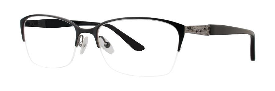 Dana Buchman AINSLIE Black Eyeglasses Size54-16-140.00