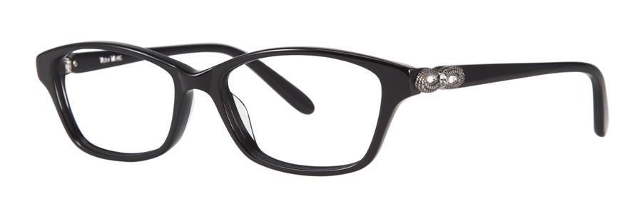 Vera Wang AISLIN Black Eyeglasses Size54-16-137.00
