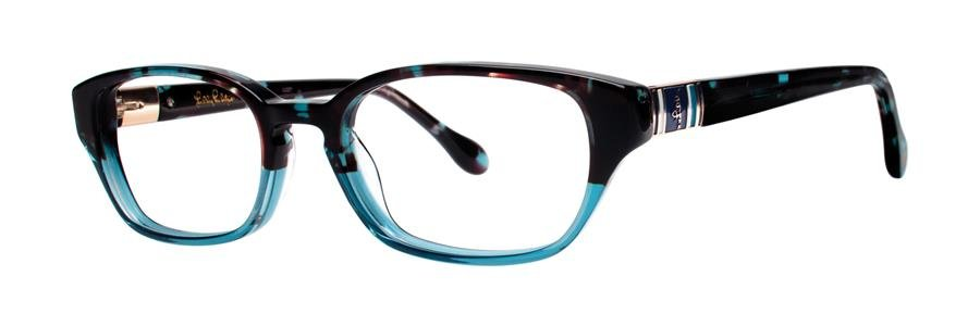 Lilly Pulitzer ALANIS Aqua Tortoise Eyeglasses Size47-17-135.00