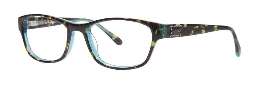 Lilly Pulitzer ALEXI Tortoise Aqua Eyeglasses Size52-16-135.00