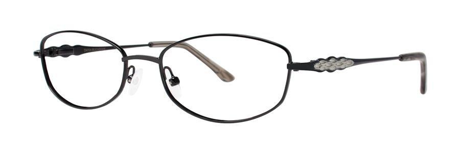 Dana Buchman ALIDA Black Eyeglasses Size52-17-132.00