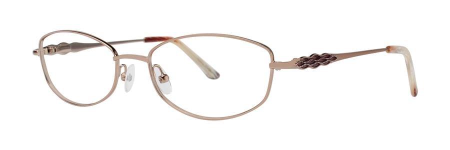 Dana Buchman ALIDA Brown Eyeglasses Size52-17-132.00