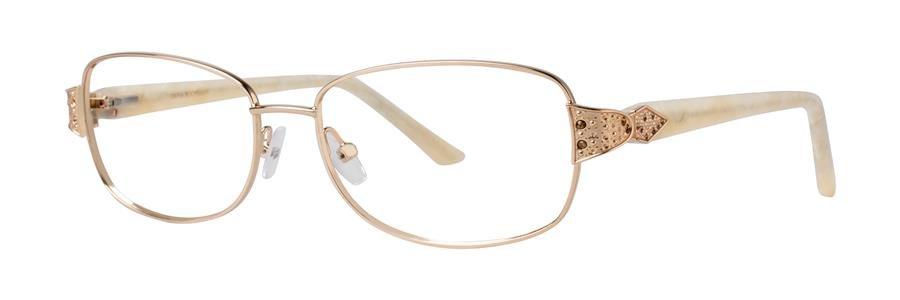 Dana Buchman ALISTAIN Gold Eyeglasses Size52-15-135.00