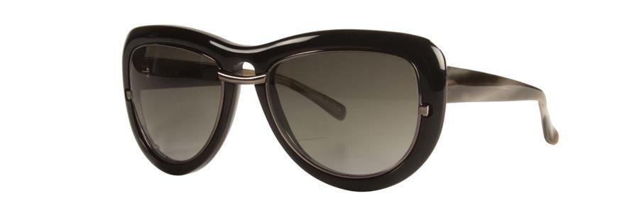 Vera Wang ALIZIA Black Sunglasses Size56-17-135.00