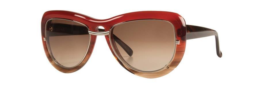 Vera Wang ALIZIA Burgundy Sunglasses Size56-17-135.00