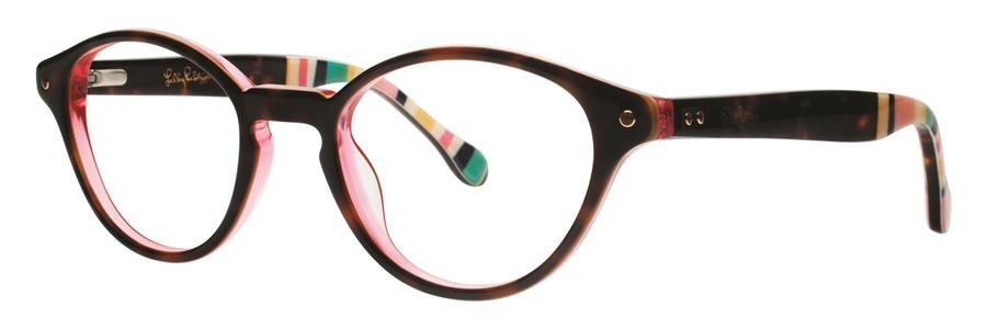Lilly Pulitzer ALLAIRE Tortoise Eyeglasses Size45-19-135.00