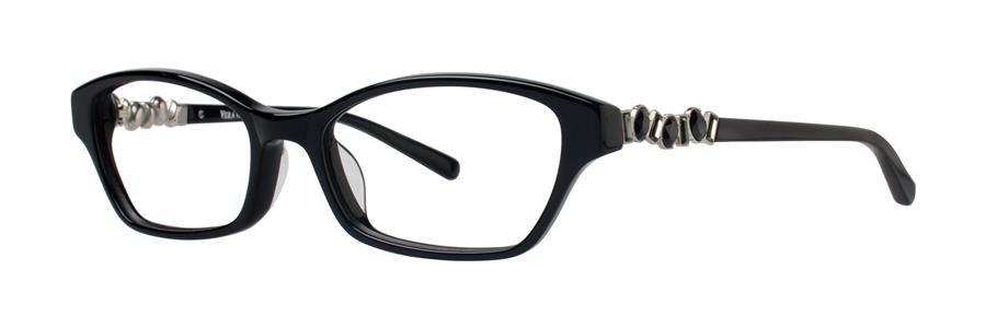 Vera Wang ALRISHA Black Eyeglasses Size49-16-130.00