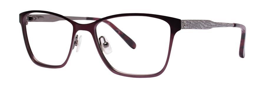 Vera Wang ALVA Maroon Eyeglasses Size52-16-135.00