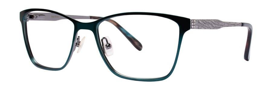 Vera Wang ALVA Teal Eyeglasses Size52-16-135.00