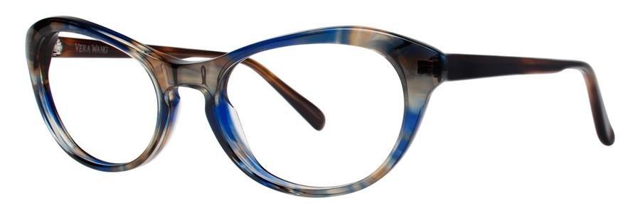 Vera Wang AMARA Royal Marble Eyeglasses Size52-17-135.00