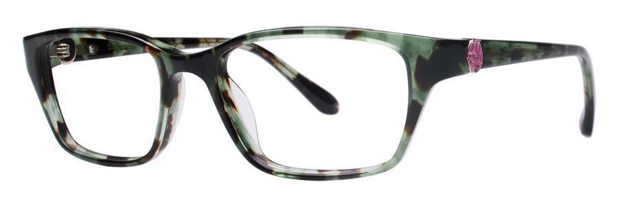 Lilly Pulitzer AMBERLY Green Tortoise Eyeglasses Size51-16-135.00