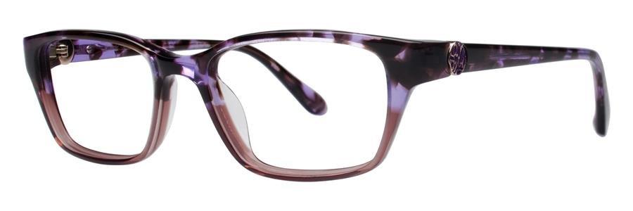 Lilly Pulitzer AMBERLY Purple Tortoise Eyeglasses Size49-16-133.00
