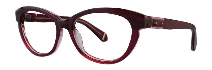 Zac Posen AMIRA Wine Eyeglasses Size52-18-140.00