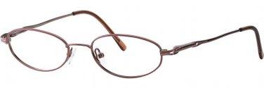 Destiny ANDREA Brown Eyeglasses Size49-18-135.00