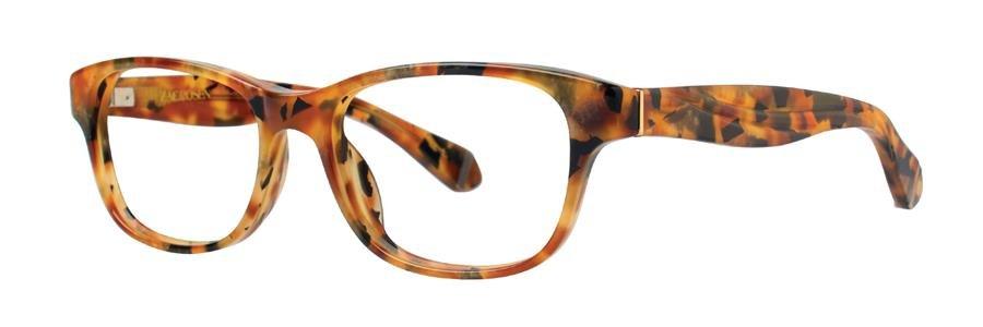 Zac Posen ANNABELLA Amber Tortoise Eyeglasses Size50-16-130.00
