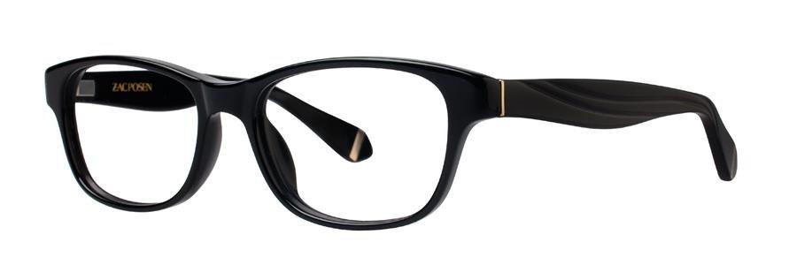 Zac Posen ANNABELLA Black Eyeglasses Size50-16-130.00