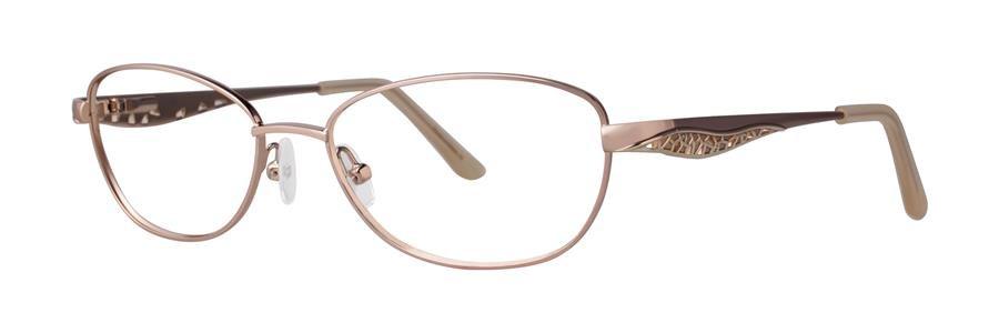 Dana Buchman ANNABELLE Gold Eyeglasses Size51-16-130.00