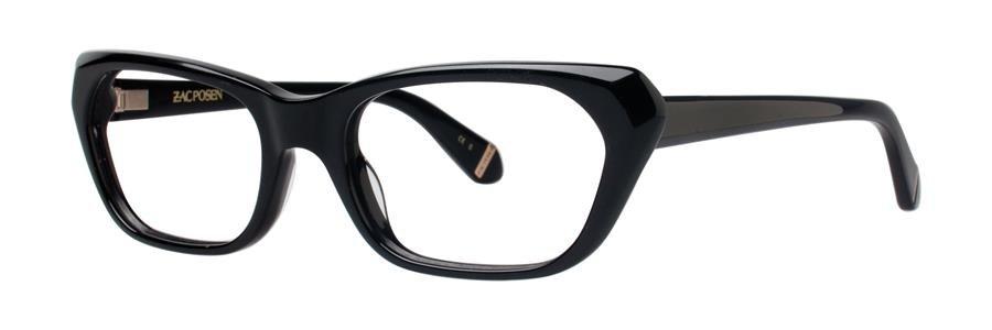 Zac Posen APOLLONIA Black Eyeglasses Size51-18-135.00