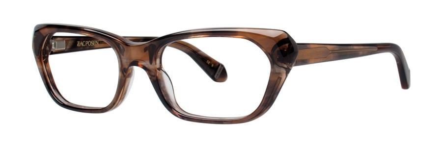 Zac Posen APOLLONIA Taupe Eyeglasses Size51-18-135.00