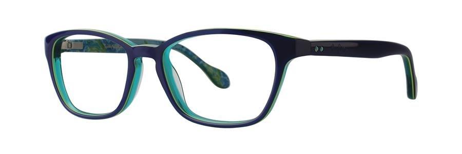 Lilly Pulitzer ARABELLE Navy Eyeglasses Size47-15-125.00
