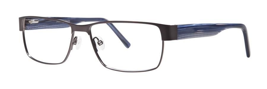 Jhane Barnes ARITHMETIC Gunmetal Eyeglasses Size56-15-145.00