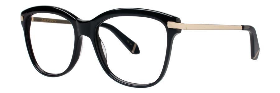 Zac Posen ARLETTY Black Eyeglasses Size54-17-135.00