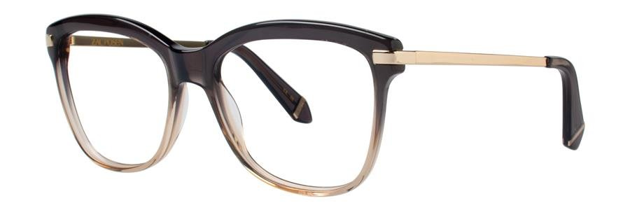 Zac Posen ARLETTY Gray Eyeglasses Size54-17-135.00