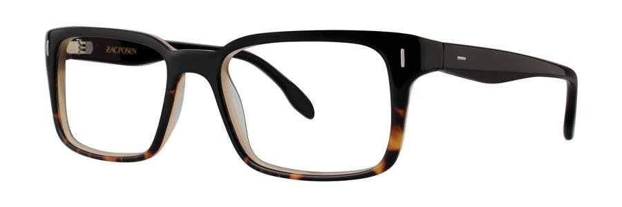 Zac Posen ARRAN Black Eyeglasses Size53-18-140.00