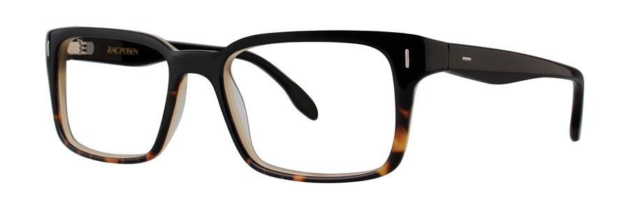 Zac Posen ARRAN Black Eyeglasses Size55-18-145.00