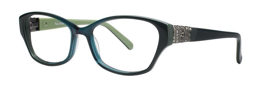 Vera Wang AUDE Teal Eyeglasses Size50-16-133.00