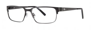 Jhane Barnes AXIOM Black Eyeglasses Size57-16-143.00