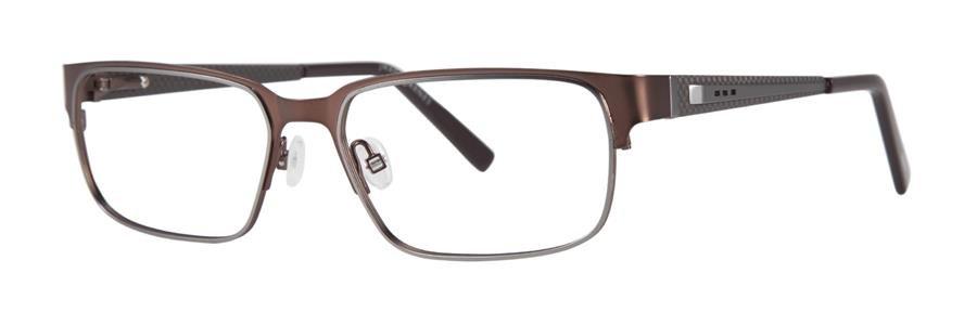 Jhane Barnes AXIOM Brown Eyeglasses Size55-16-138.00