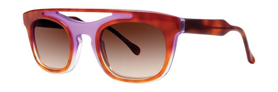 Vera Wang AYA Lilac Tortoise Sunglasses Size50-24-140.00
