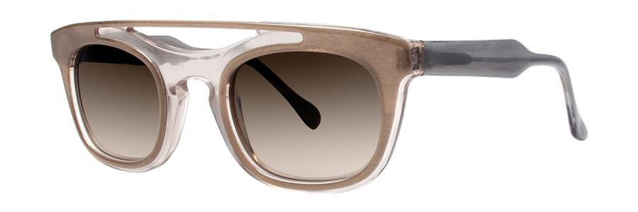 Vera Wang AYA Taupe Sheer Sunglasses Size50-24-140.00