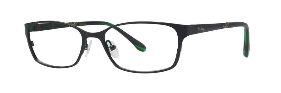 Lilly Pulitzer BECKETT Black Eyeglasses Size49-15-135.00