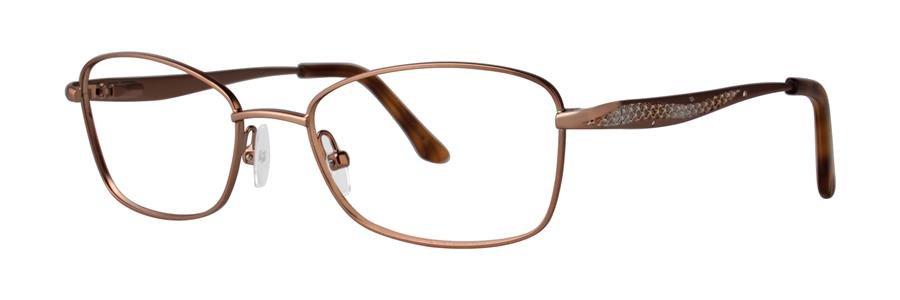 Dana Buchman BEVERLY Brown Eyeglasses Size50-17-130.00
