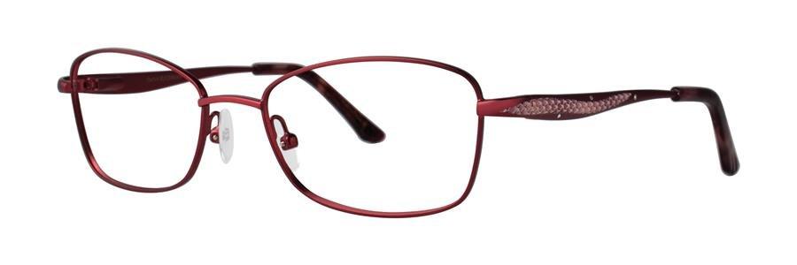 Dana Buchman BEVERLY Crimson Eyeglasses Size50-17-130.00