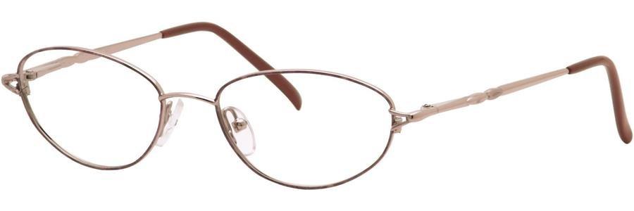 Destiny BLAIRE Nutmeg Eyeglasses Size50-17-135.00