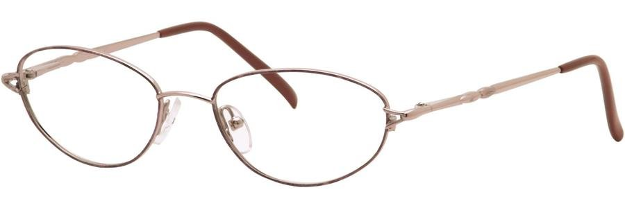 Destiny BLAIRE Nutmeg Eyeglasses Size52-17-140.00