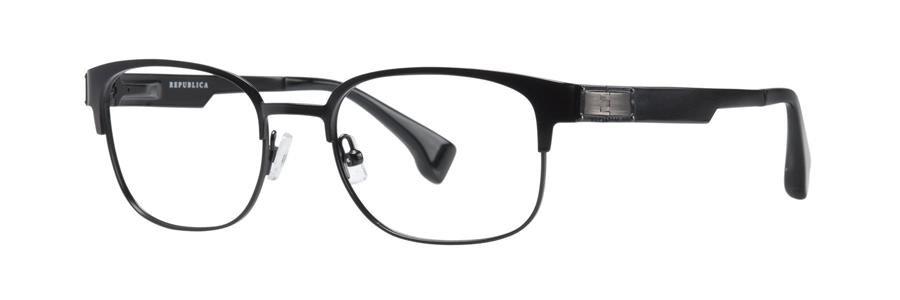 Republica BOSTON Black Eyeglasses Size50-19-135.00