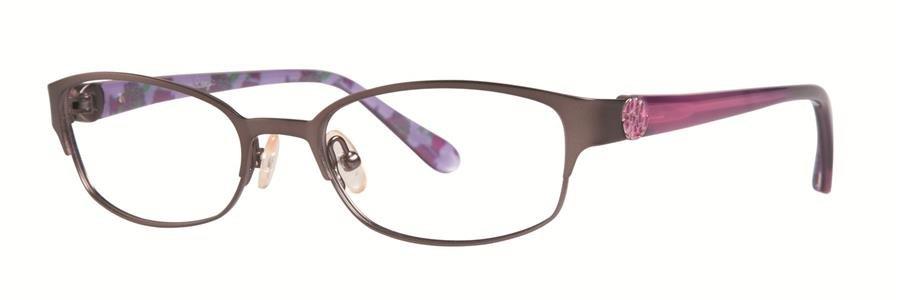 Lilly Pulitzer BRIDGIT Gunmetal Eyeglasses Size52-17-135.00