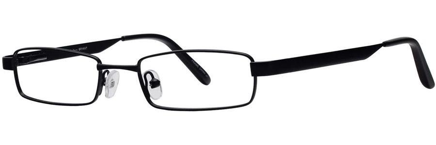 Gallery BRYANT Black Eyeglasses Size51-19-140.00